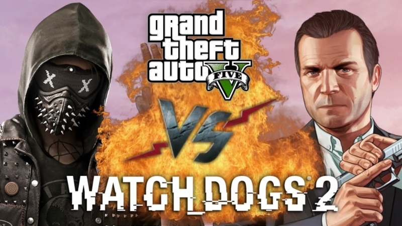 MORIS - RAP BATTLE GTA 5 vs Watch_Dogs