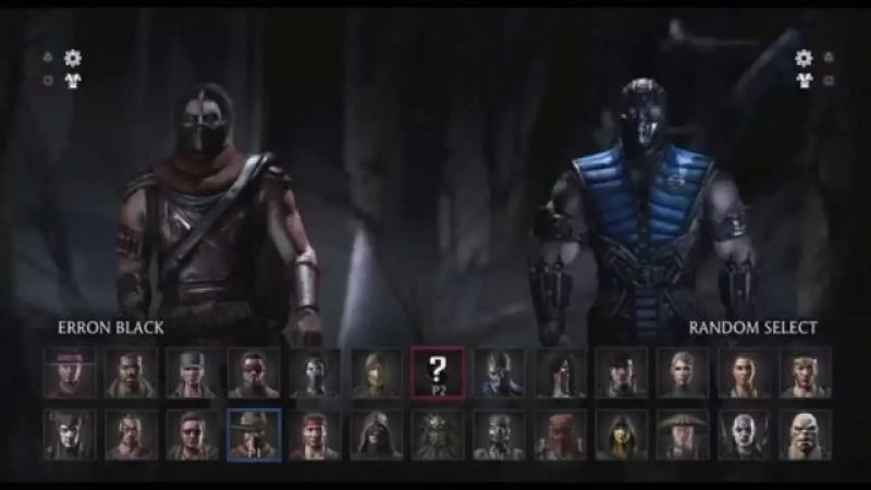Mortal Kombat X OST - Main Menu Theme Character select