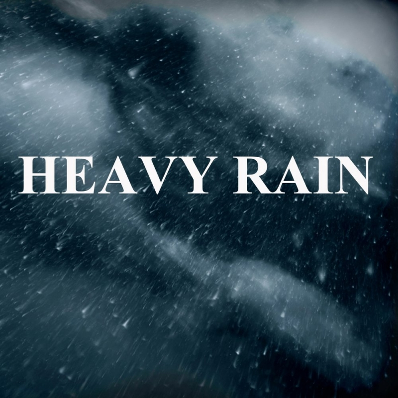 Nature Lovers - Heavy Rain with Thunder Sounds Part 13