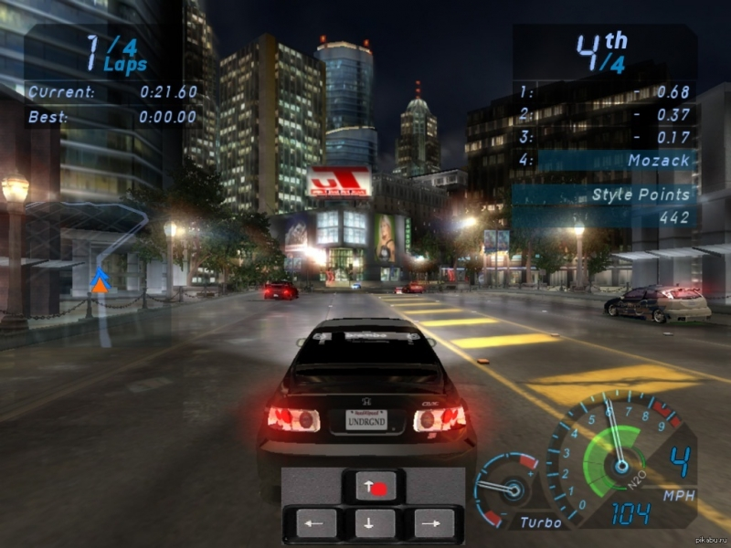 музыка из need for speed underground