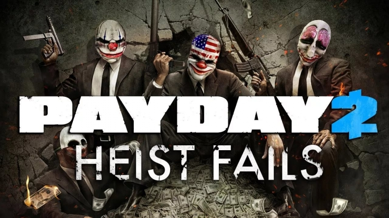 PAYDAY the Heist - Busted heist failed sound effect free