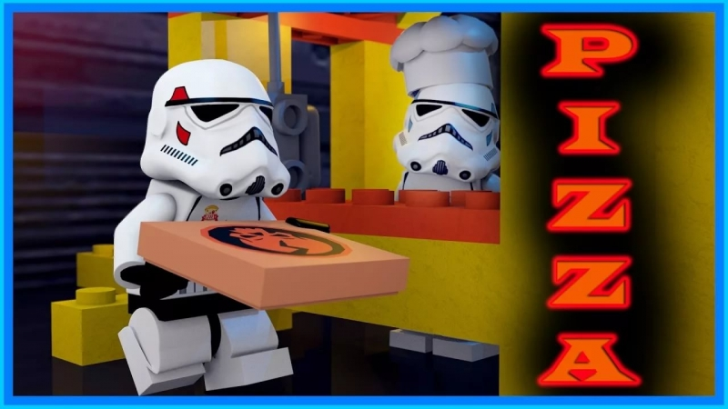 PiZZA - LEGO Star Wars