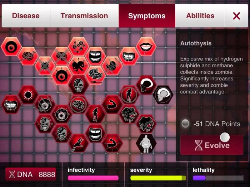 Plague inc evolved - Necroa virus