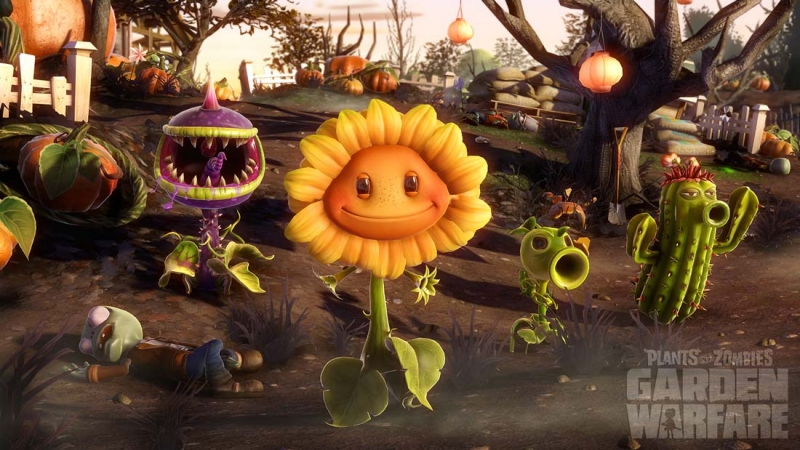 Plants vs. Zombies Garden Warfare - The Zombies Are Coming