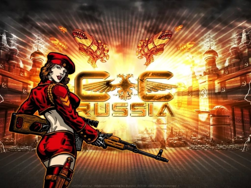 Red Alert 3 - For Mother Russia MIX
