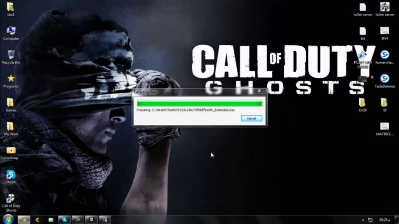 Reloaded - Call of duty Ghosts reloaded music Installer