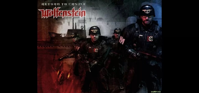 Return to Castle Wolfenstein-ID Software - Graveyard