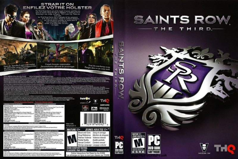 Saints Row the Third- Activities O.S.T. - Airborne Backup