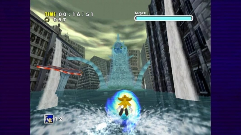 Sonic Adventure DX - Mirror Room