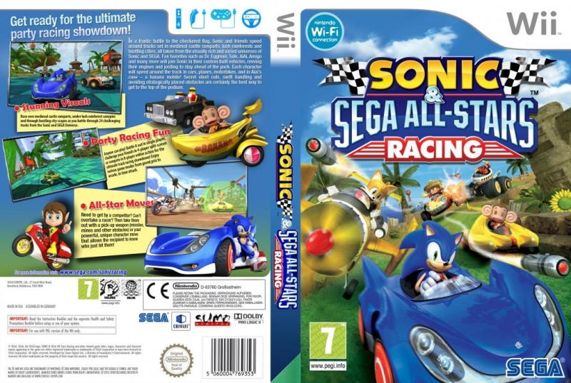 Sonic and Sega All-stars Racing - Tails All-stars Move