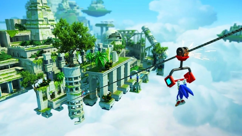 Sonic Generations - Sky Sanctuary Zone Classic