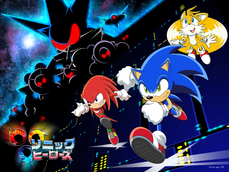 Sonic Heroes - 'Menu System Screen - Team Select' Music