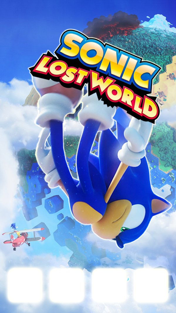 Sonic Lost World - Silent Forest - Zone 2 50dB