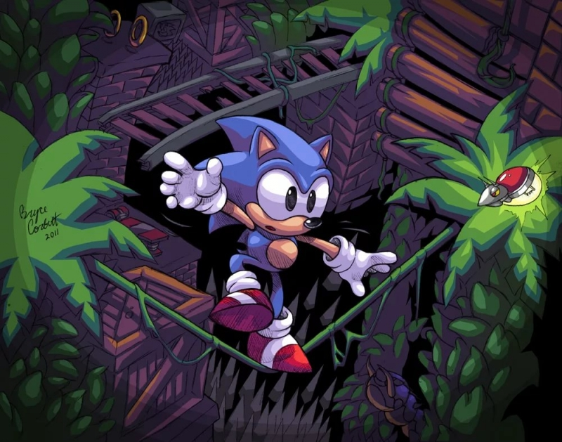 Sonic the Hedgehog 2 - Mystic Cave Zone Classic