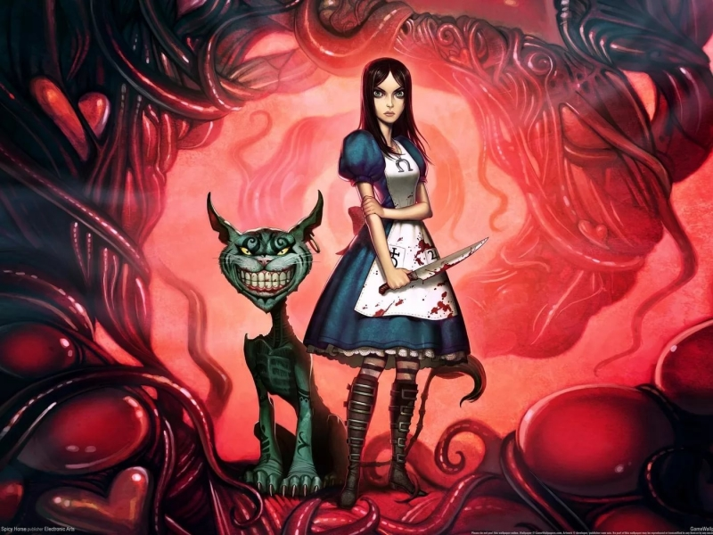 Spicey Horse - VOT Shower Cine Alice Madness Returns