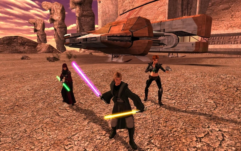 Star Wars Knights of the Old Republic II - Jedi