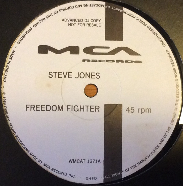 Steve Jones - Freedom Fighter