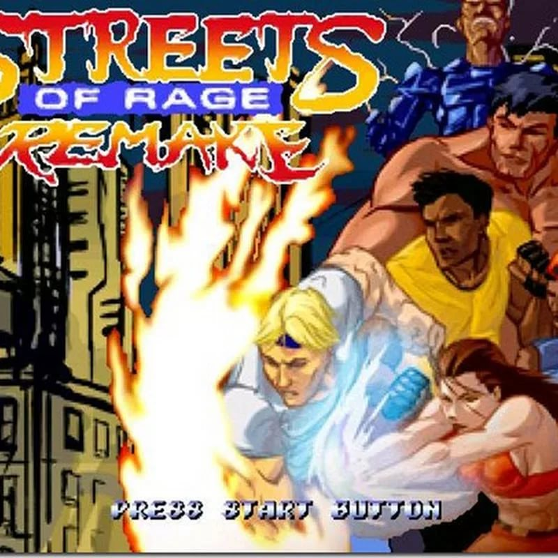 Streets of Rage - The Super Threc