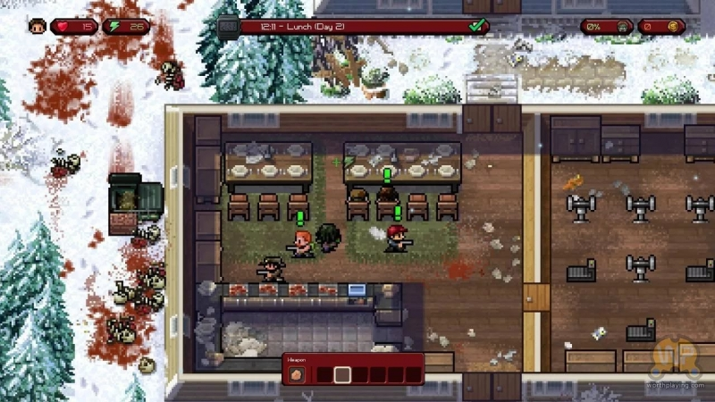 The Escapists The Walking Dead - The Farm - Freetime Alt theescapists_twd