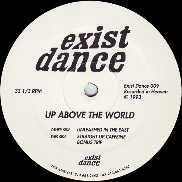 Up Above The World - 1993 - California Dreaming - Straight Up Caffeine