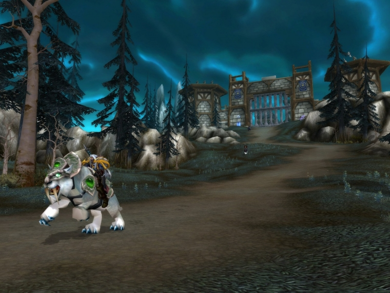 West - из World of Warcraft - Anubelora